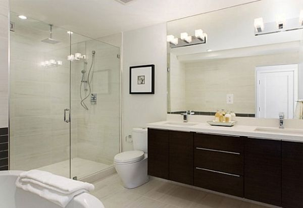 Best bathroom designs 2015 fashion trends 2016 2017 for Bathroom lighting trends 2016