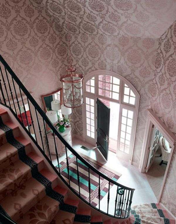 Hallway wallpaper decorating ideas 2015 2016 fashion for Wallpaper decorating ideas