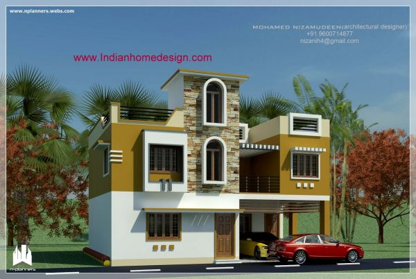 Home exterior design indian style 2015 2016 fashion for Exterior house designs indian style