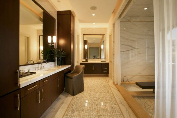 Master bathroom design photos 2015 2016 fashion trends for Espresso bathroom ideas