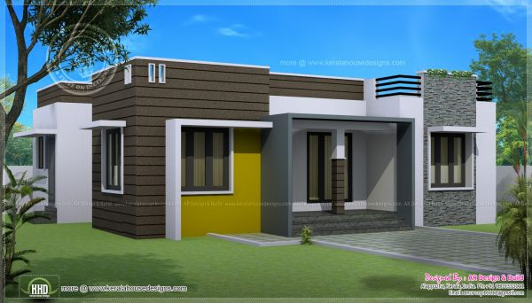 Modern single storey house designs 2016 2017 fashion One story house designs