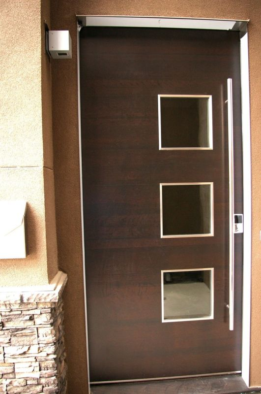 Modern wooden door 2015 2016 fashion trends 2016 2017 for Wooden front doors fitted