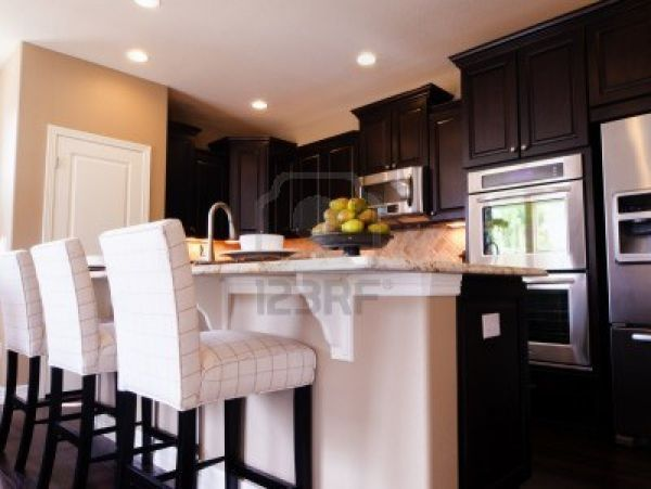 Pictures of kitchens with dark cabinets 2016  Fashion Trends 2016