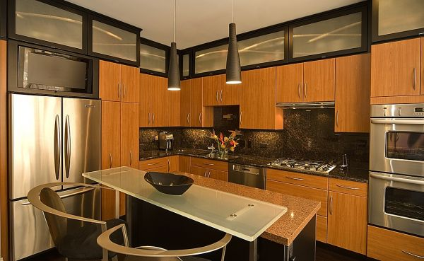 Small townhouse interior design 2015 2016 fashion trends for Small townhouse kitchen designs
