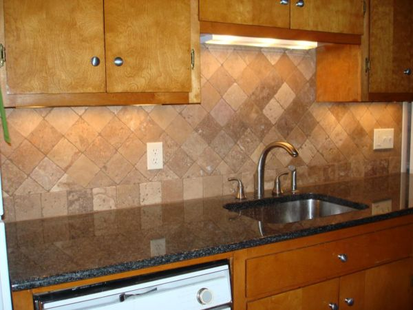 Travertine Tile Backsplash Ideas Shopping Guide We Are