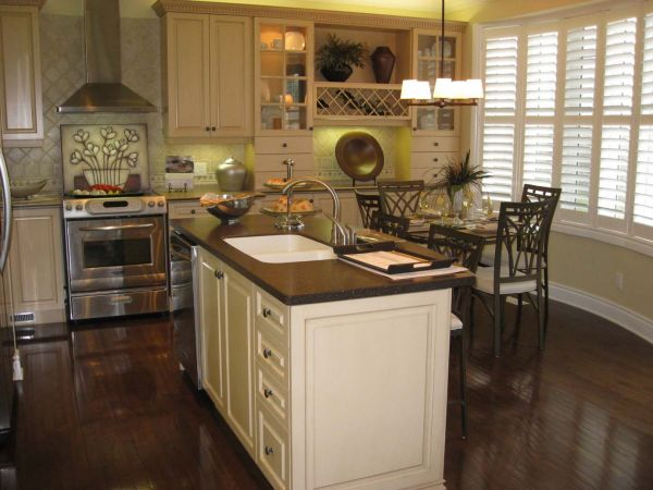 White and dark kitchen cabinets 2015 2016  Fashion Trends 2016 2017