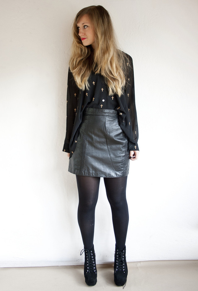 Leather Mini Skirt Tumblr Shopping Guide We Are Number