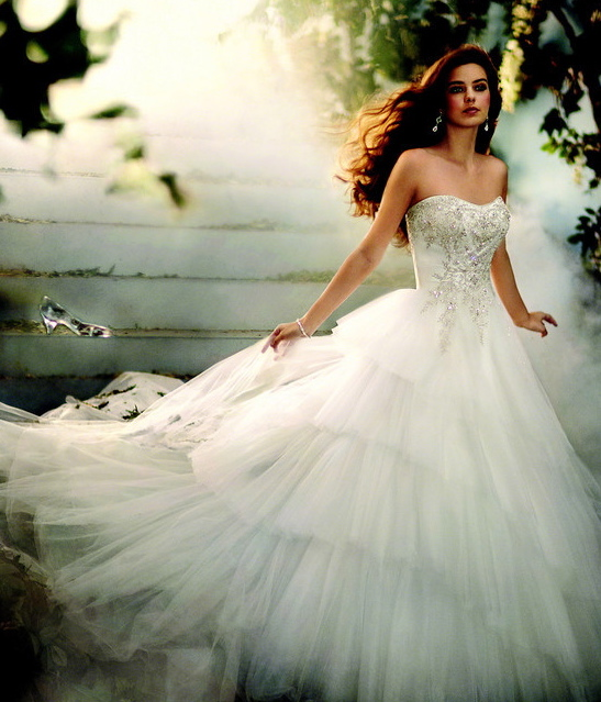 Cinderella Wedding: Cinderella Wedding Dress Disney 2014-2015