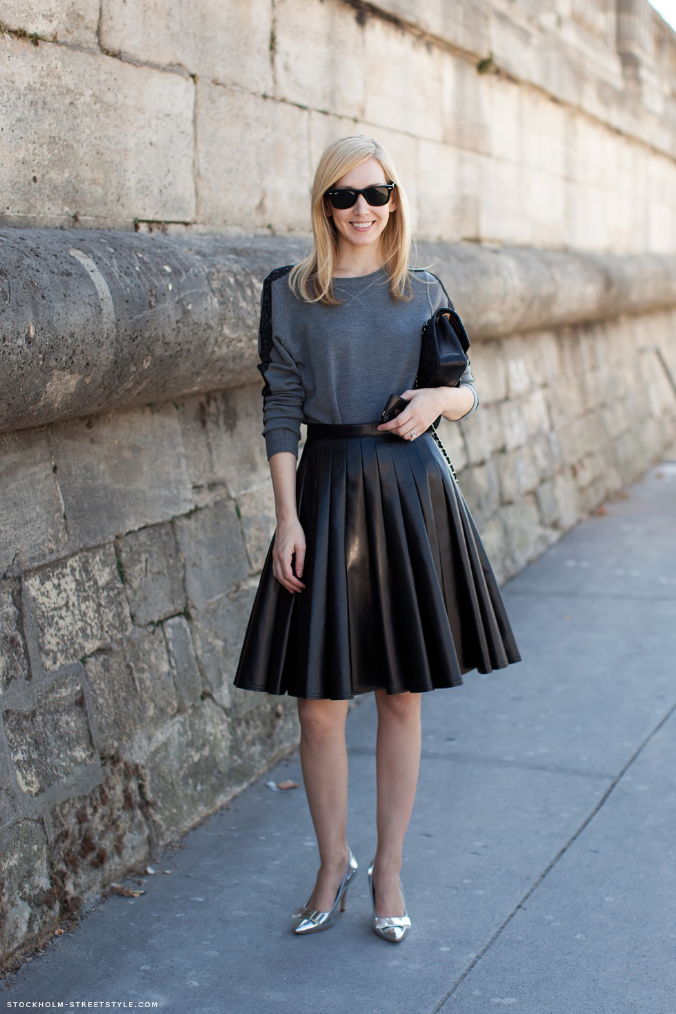 Black Pleated Skirt Tumblr  Shopping Guide We Are Number -3490