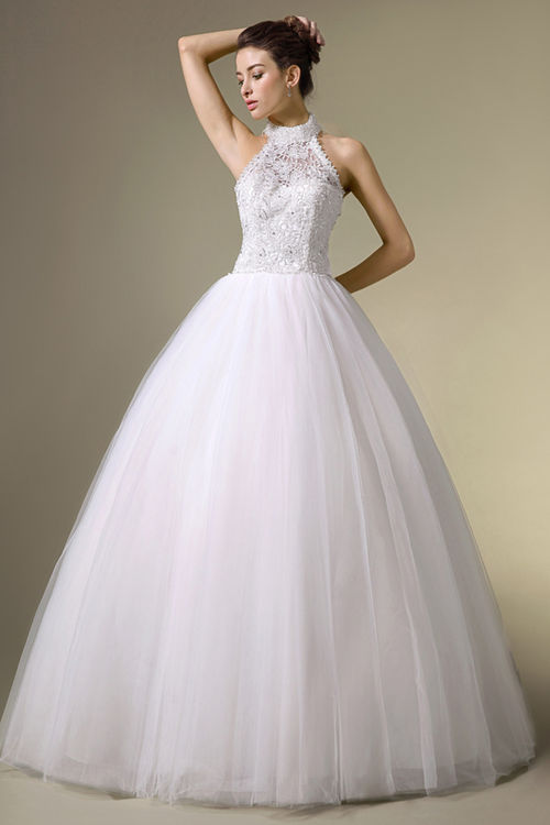 Halter wedding dresses cheap 2014 2015 fashion trends for World s most beautiful wedding dress