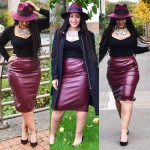 Andrea_Da_Silva_-_Missguided_Hat,_Missguided_Faux_Leather_Pencil_Skirt,_Asos_Long_Sleeve_Crop_Top,_Warehouse_Chain,_Dune_London