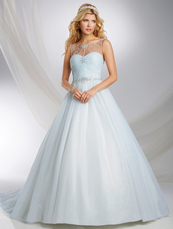 Cinderella wedding dress disney 2015 2016 fashion trends for Designer disney wedding dresses