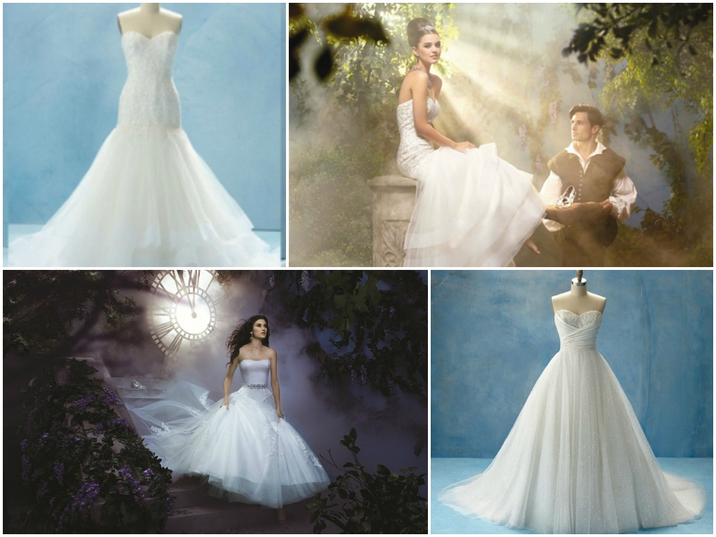 Princess Cinderella Wedding Dresses : Cinderella wedding dress disney fashion trends