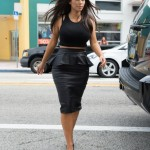 High_Waist_Pencil_skirt_and_peplum_Loving_Black_от_TheFashionVault
