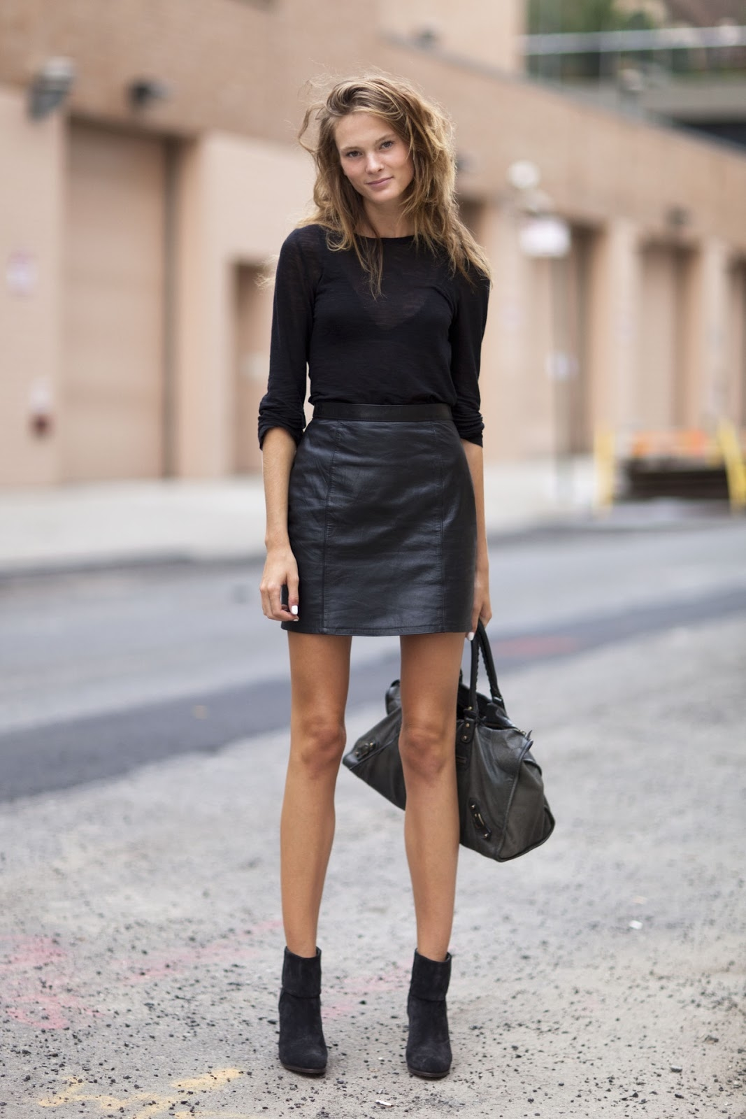 Leather Mini Skirt Tumblr