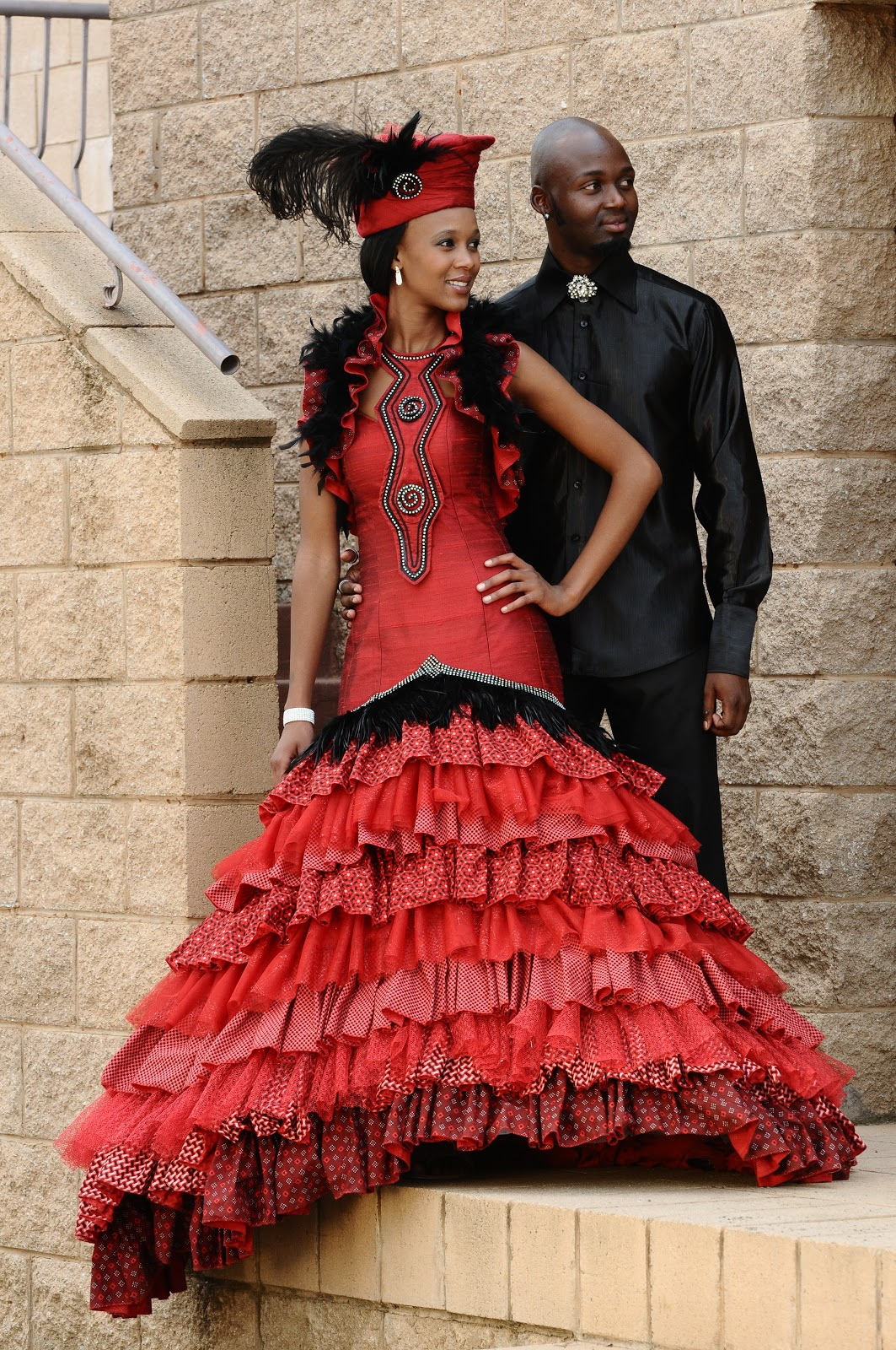 South African Traditional Wedding Dresses 2014-2015