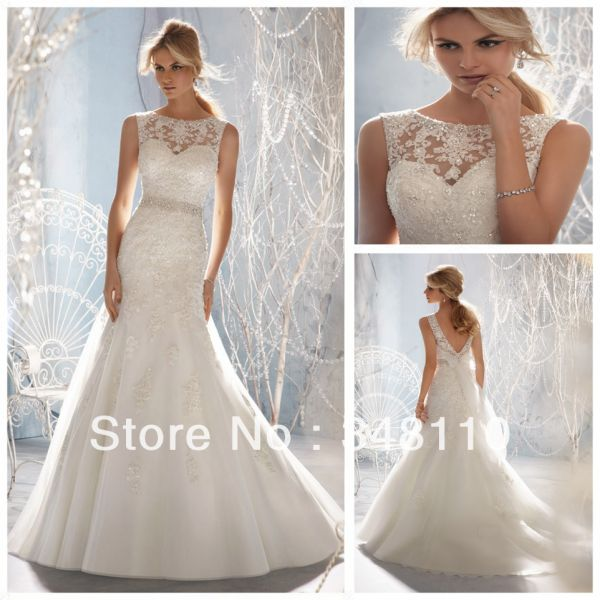 Beach Wedding Dress Low Back 2014 2015 Fashion Trends 2016 2017