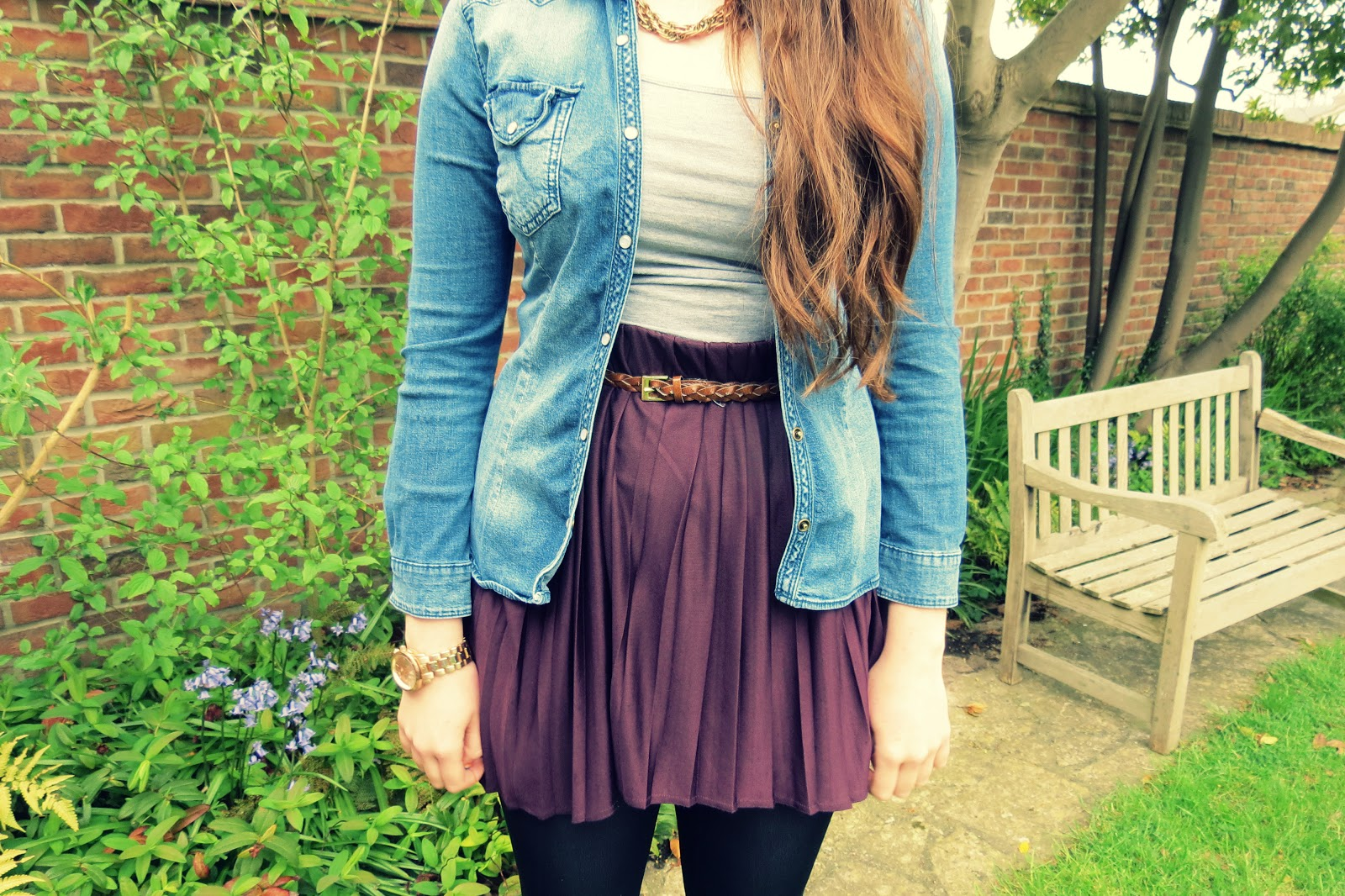 Fashion style Hi low outfit skirt ideas for girls