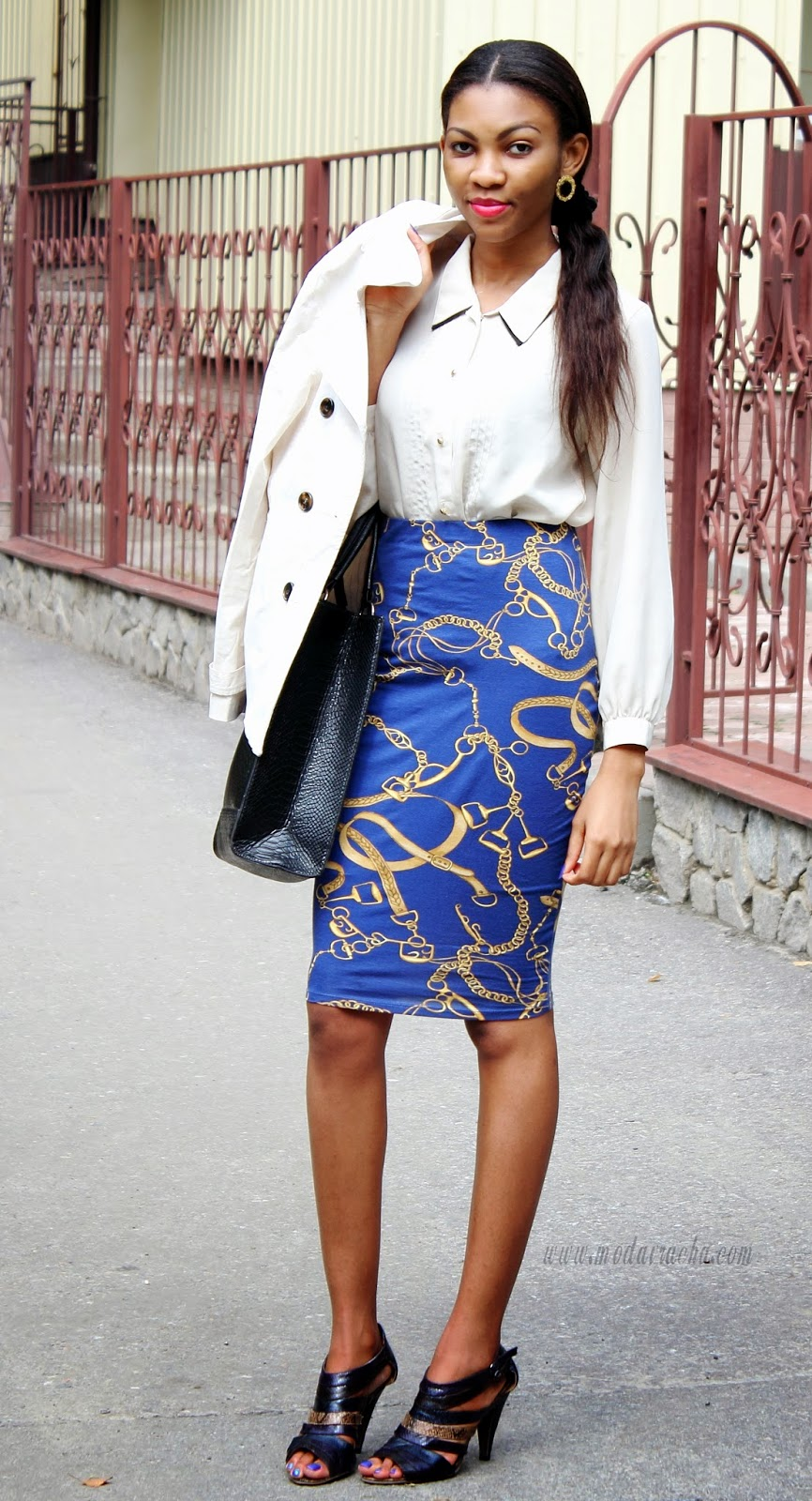 Black Pencil Skirt Outfit Ideas 2014-2015 | Fashion Trends 2016-2017