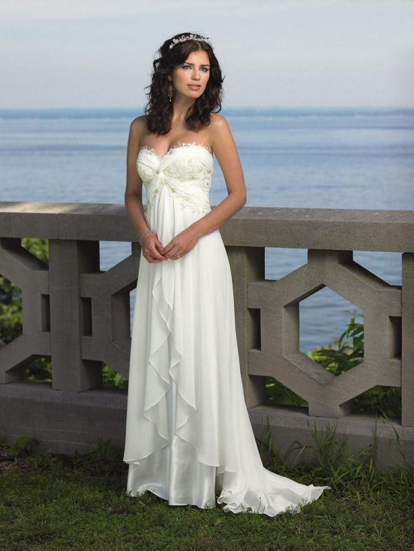 Casual wedding dresses for summer 2014 2015 fashion for Dress for summer outdoor wedding