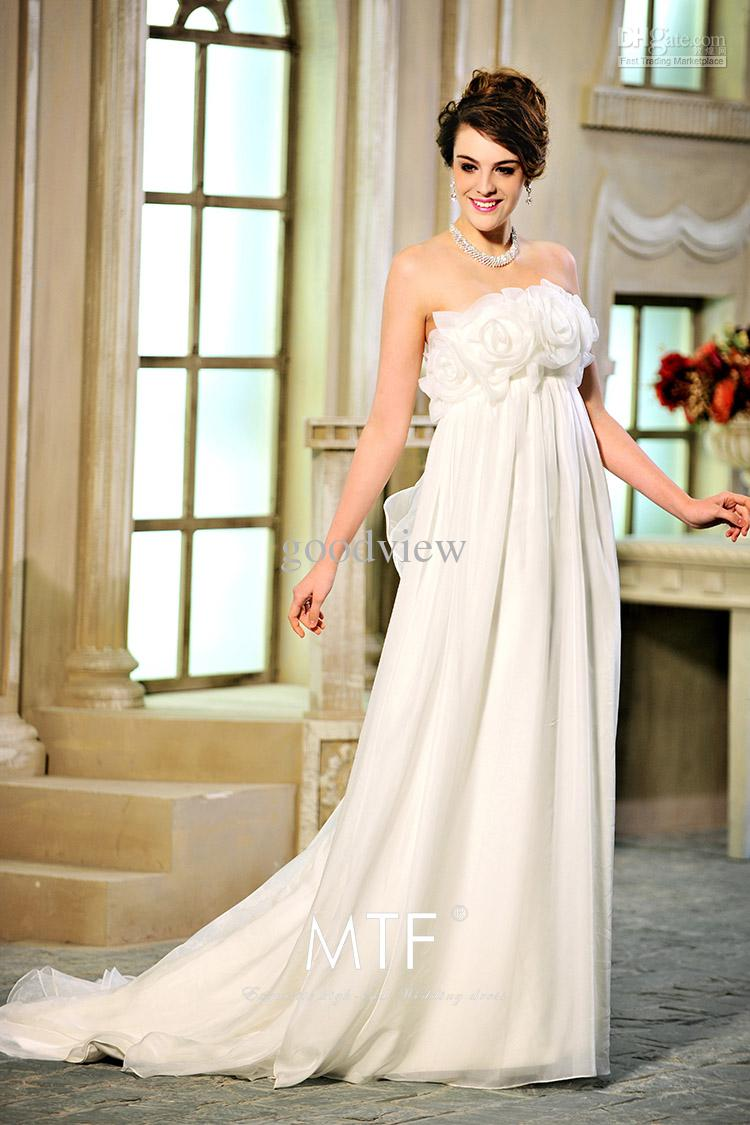Civil wedding dresses for pregnant 2014 2015 fashion for Bridal dress for civil wedding