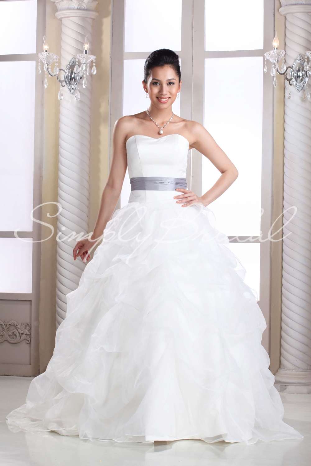 Handmade Wedding Dresses Chicago : Chaste bianca connubial ball gown gowns delineate bridalmagz
