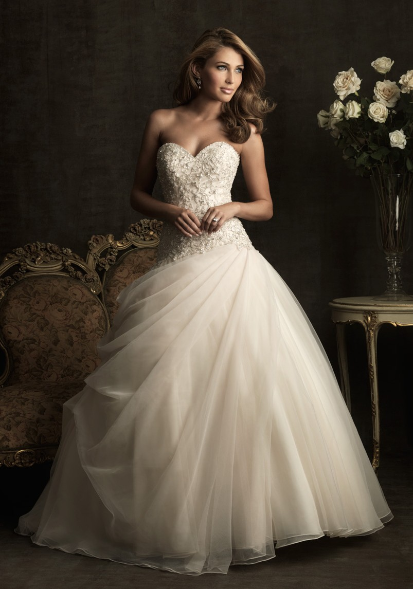 Custom wedding dresses chicago 2014 2015 fashion trends for Wedding dress boutiques chicago