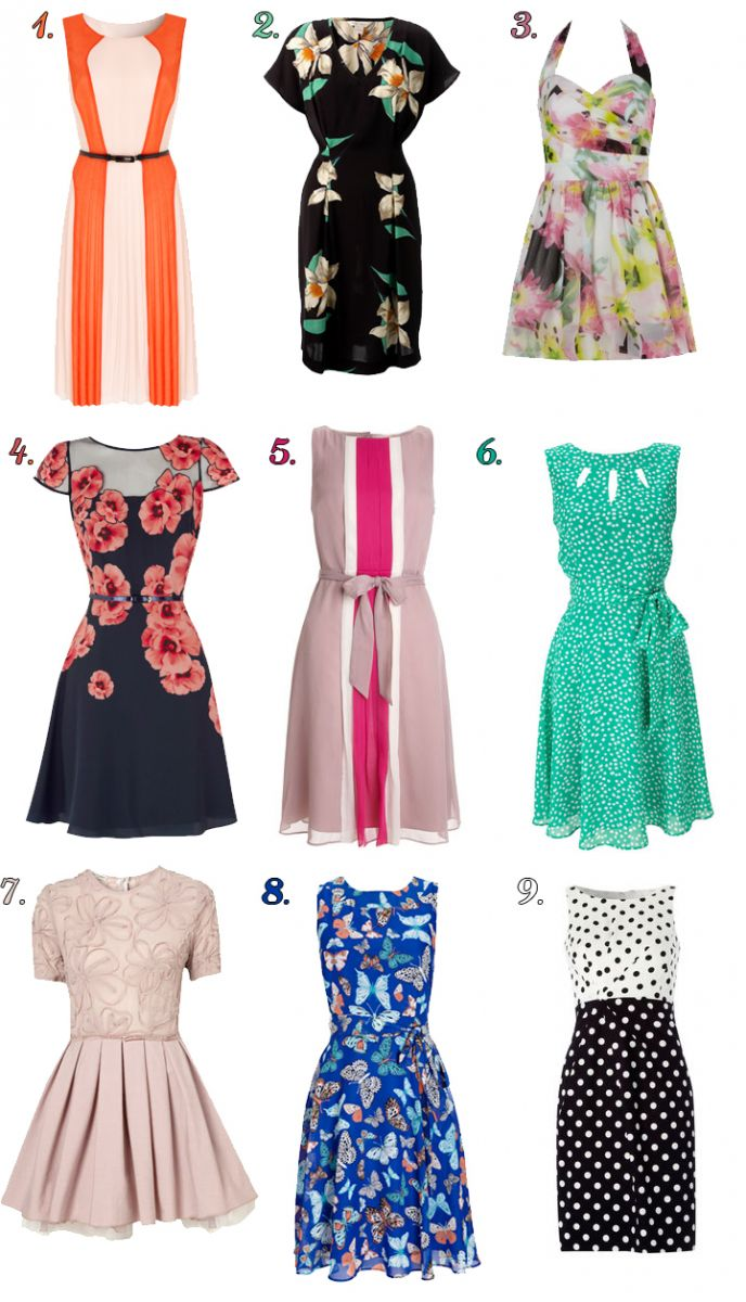 explore spring wedding guest outfits