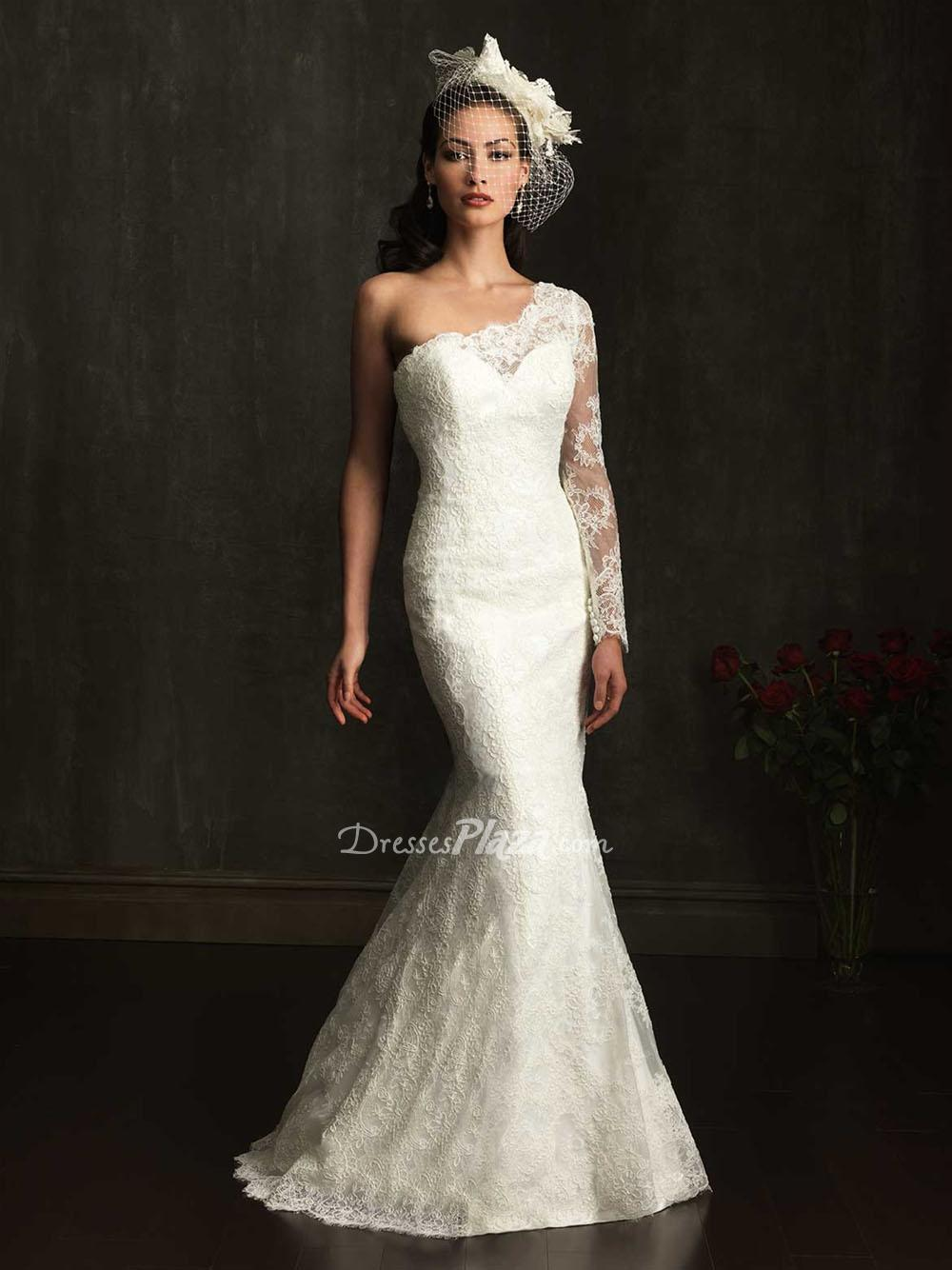 Form Fitting Wedding Dresses