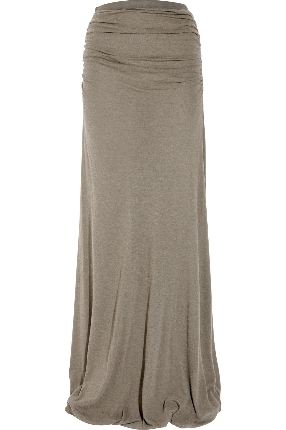 Jersey Grey maxi skirt pictures