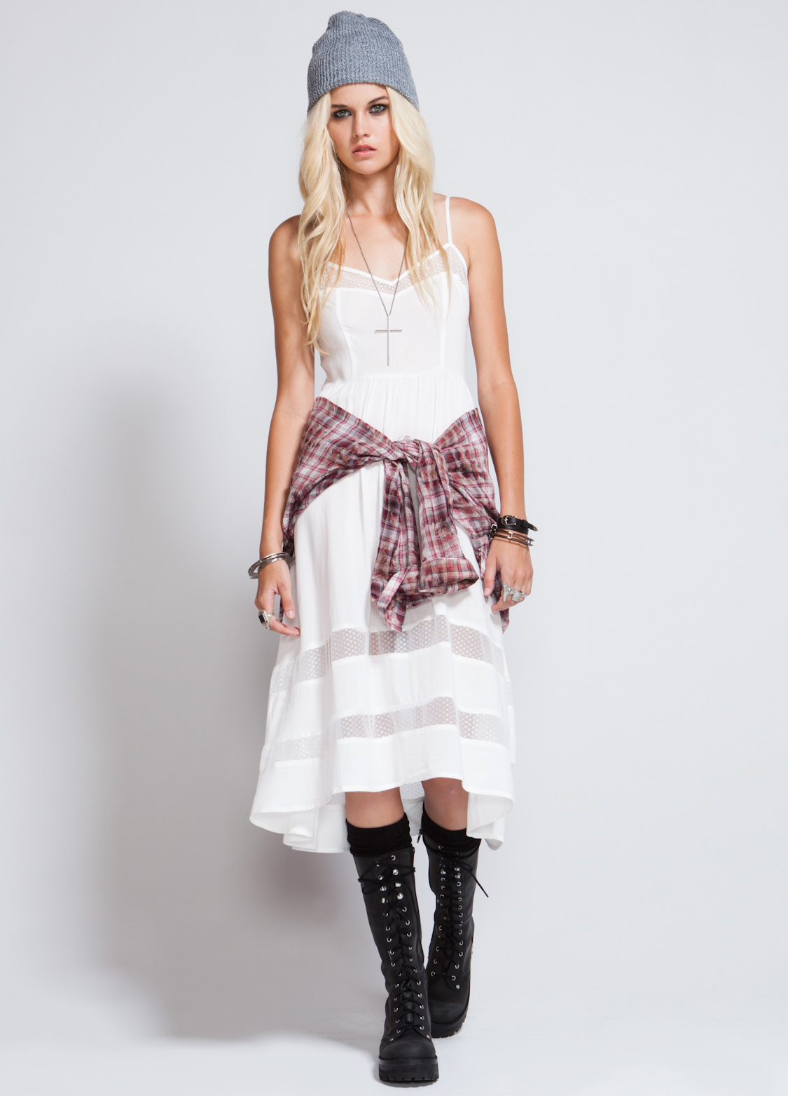 hi low skirt with boots 2014 2015 fashion trends 2016 2017