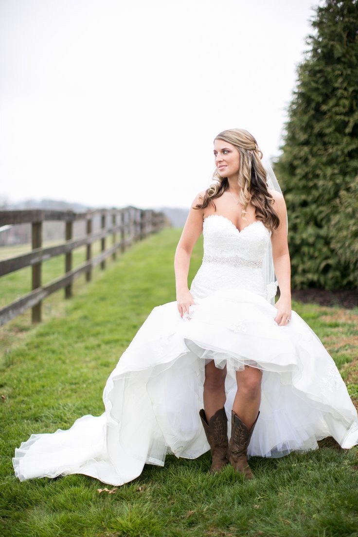 Hi low skirt with cowboy boots 2014 2015 fashion trends for High low wedding dresses with cowboy boots