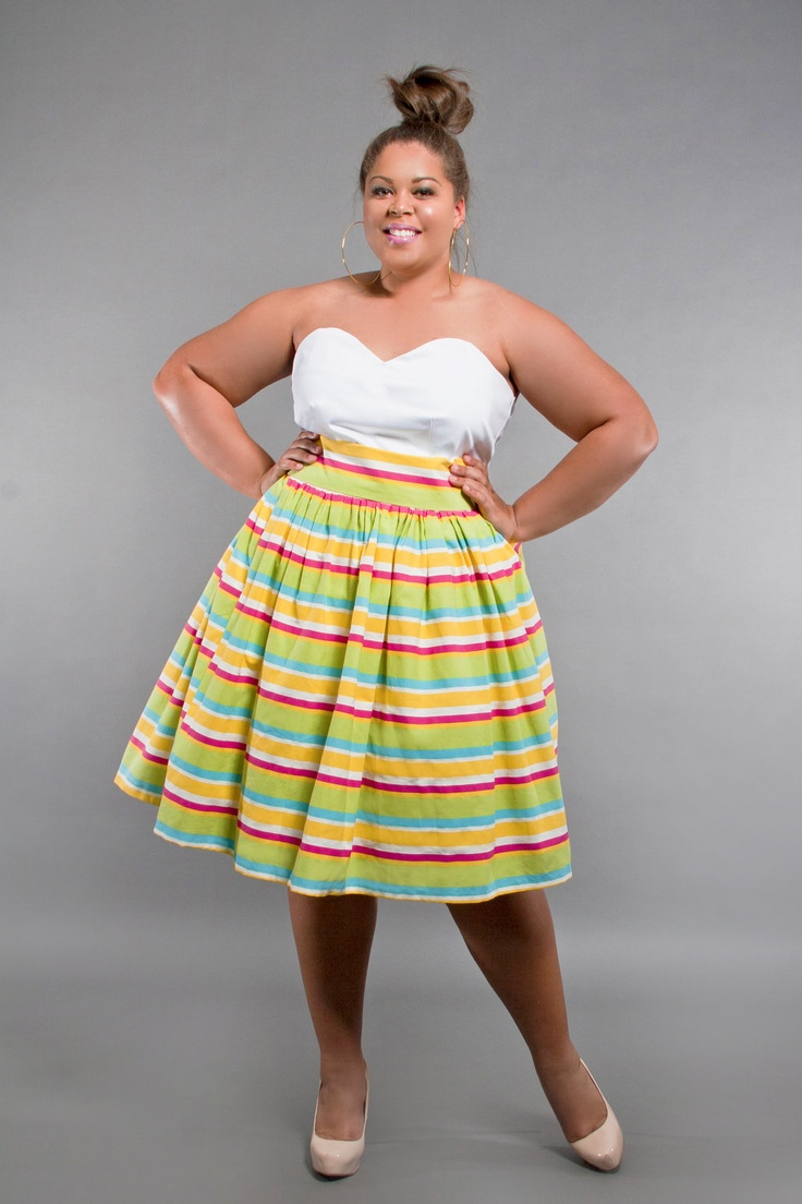 high waist plus size skirts 2014 2015 fashion trends