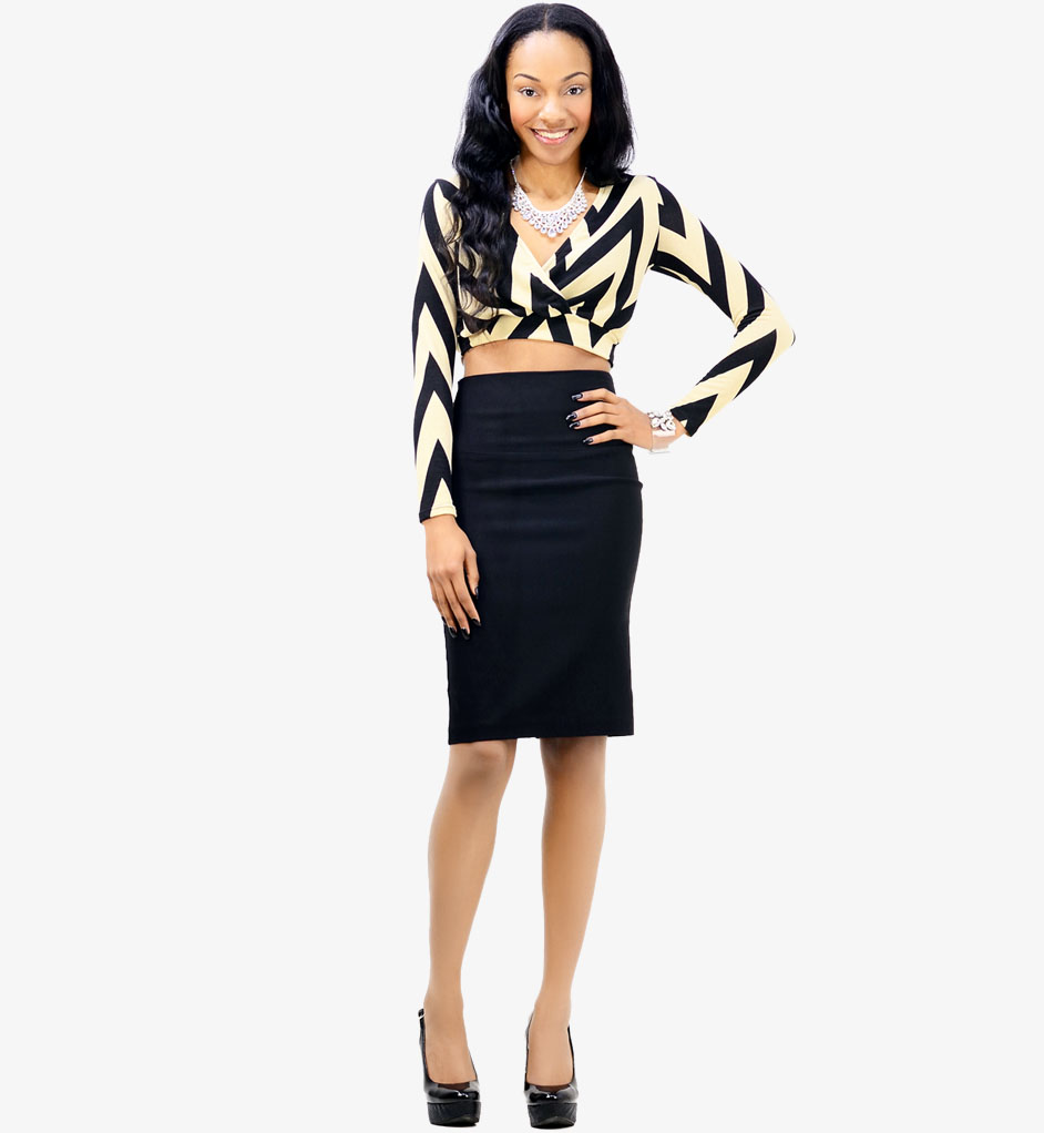 High Waisted Pencil Skirt Outfits 2014-2015 | Fashion Trends 2016-2017