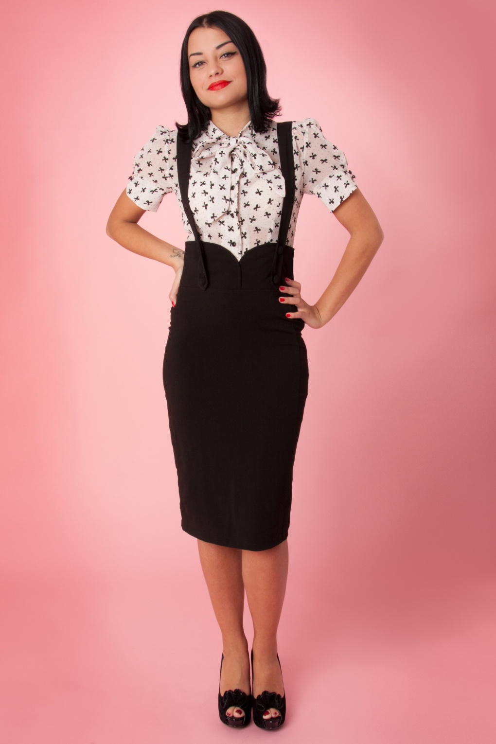 high waisted pencil skirt outfits 20142015 fashion