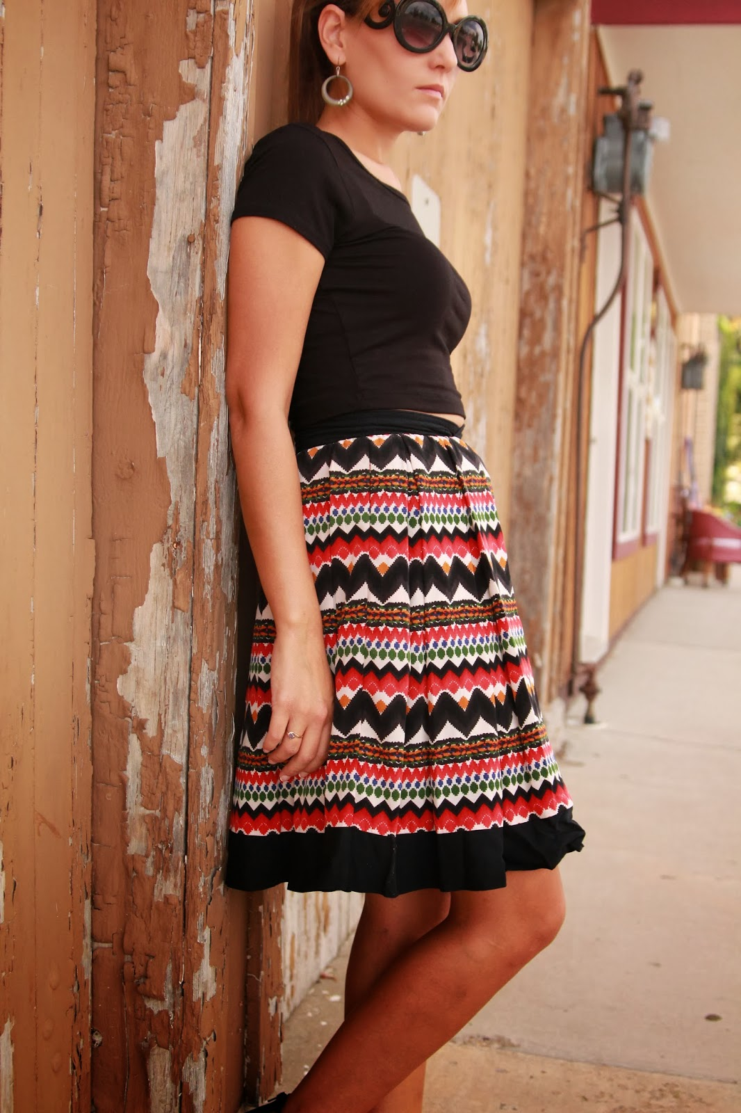 High Waisted Skirt And Crop Top Tumblr 2014-2015 | Fashion Trends 2016-2017