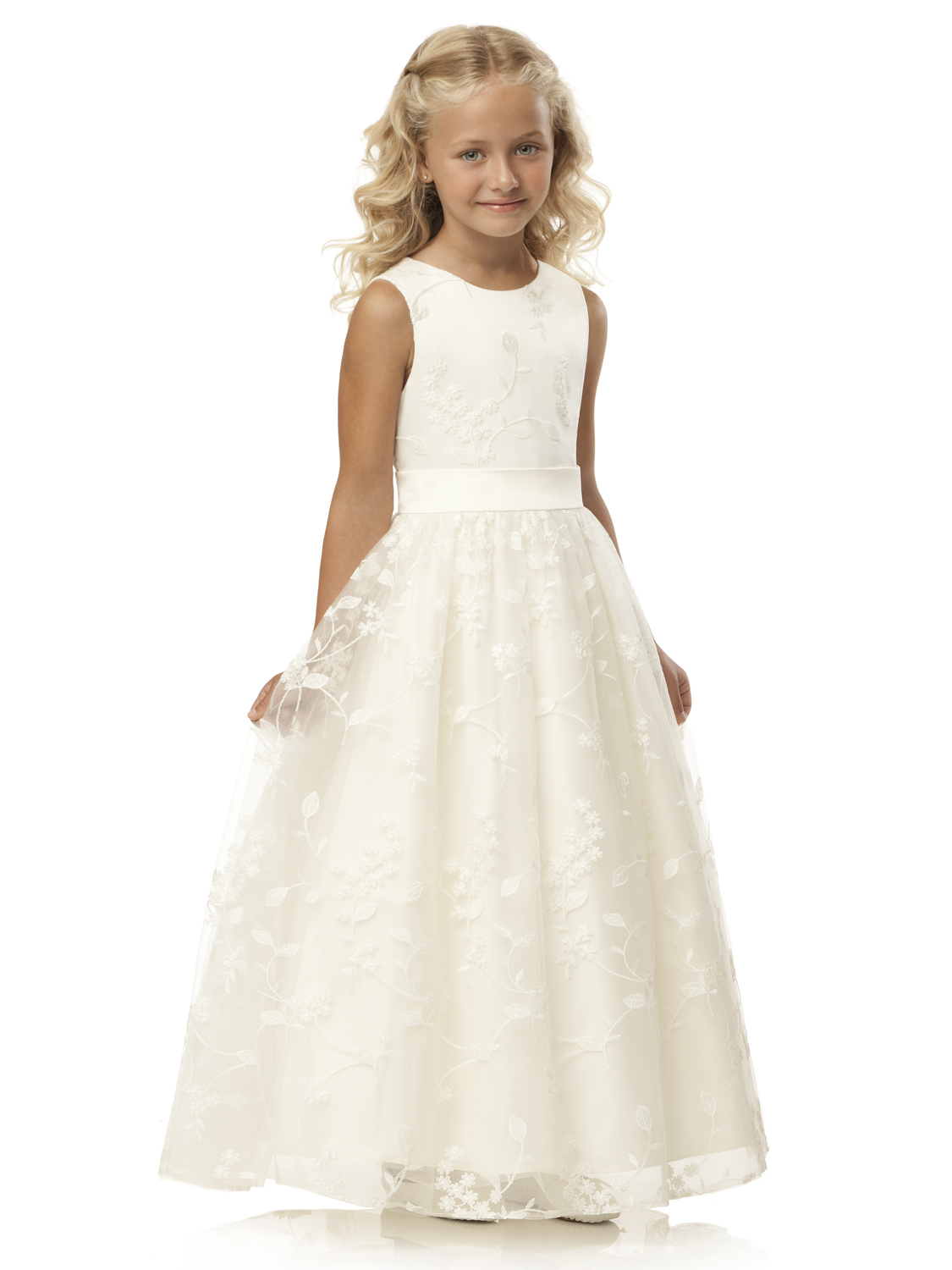 Flower Ivory girl dresses ireland pictures