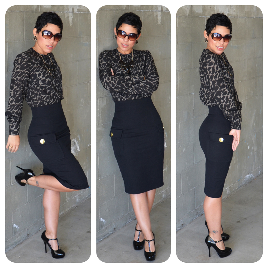 Knit Pencil Skirt Pattern 2014 2015 Fashion Trends 2016 2017