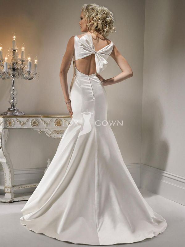 Lace Wedding Gowns With Open Back 2014 2015