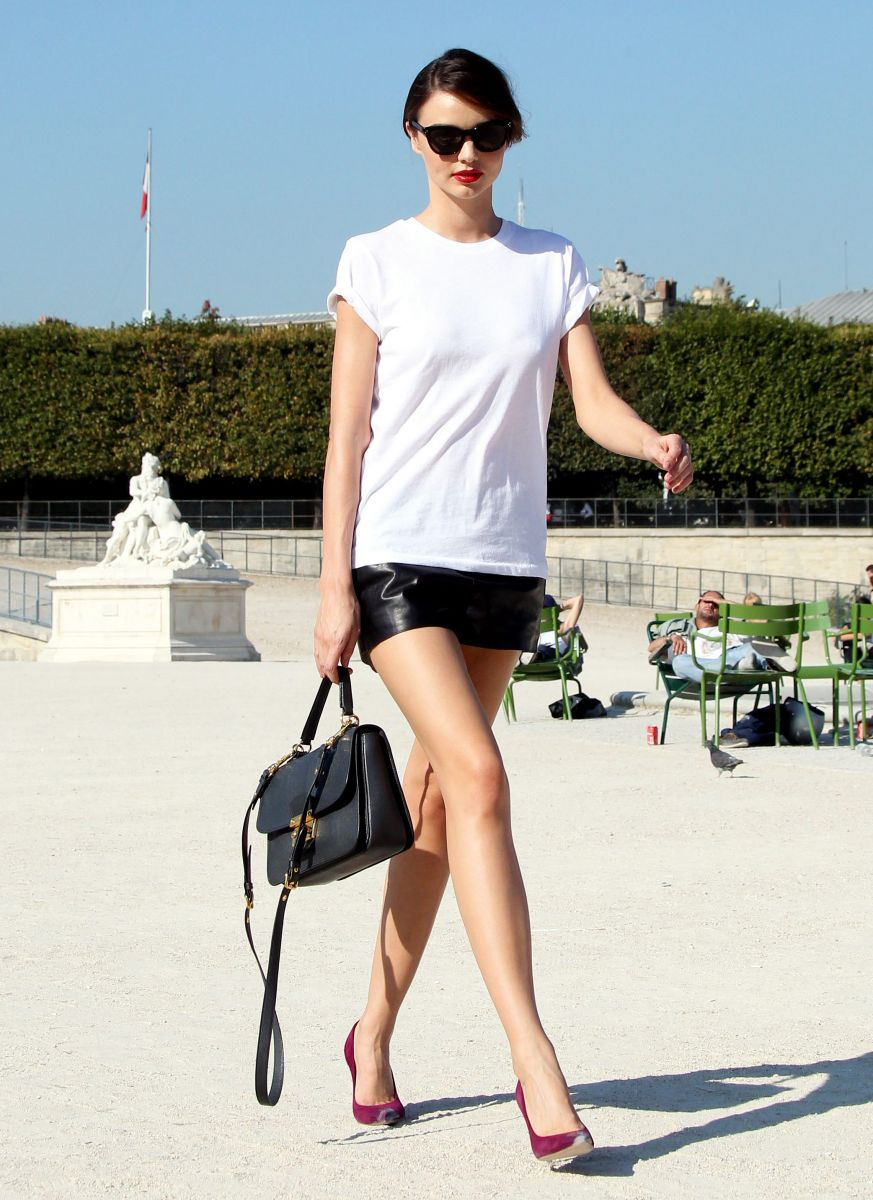 Leather Mini Skirt Looks Shopping Guide We Are Number