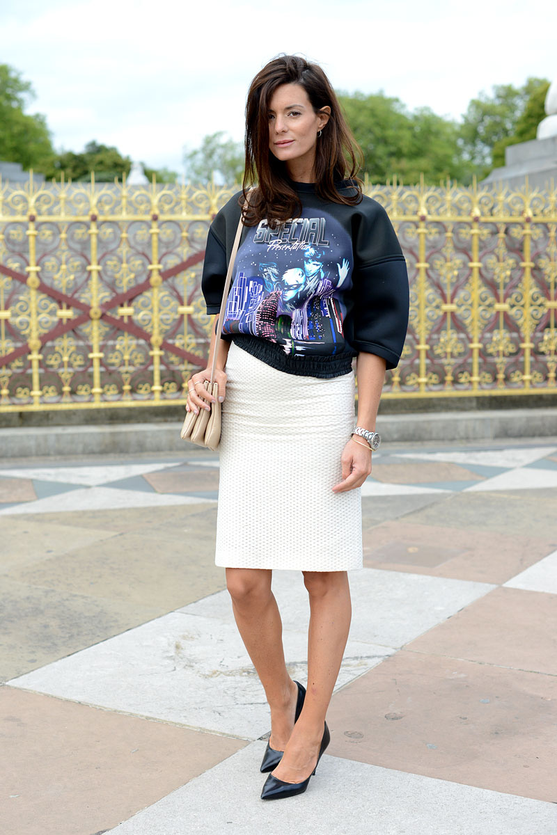 leather pencil skirt style 2014 2015 fashion