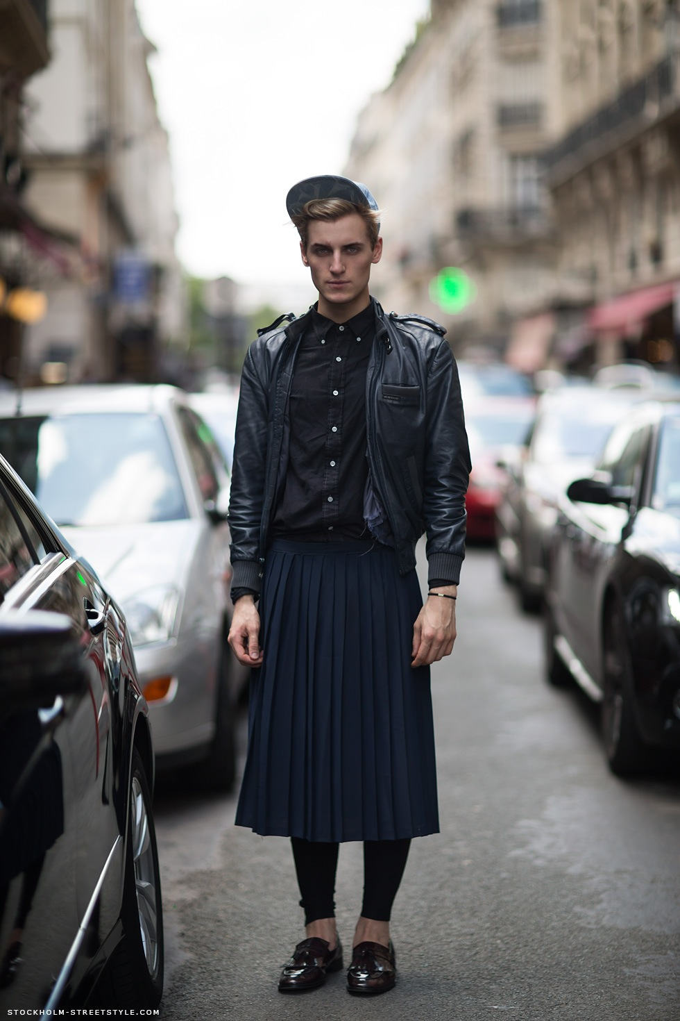 Leather Skirts For Men 2014-2015