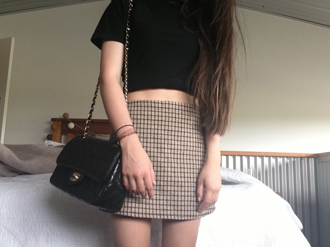 Long Black Skirt Outfits Tumblr 2014-2015 | Fashion Trends 2016-2017