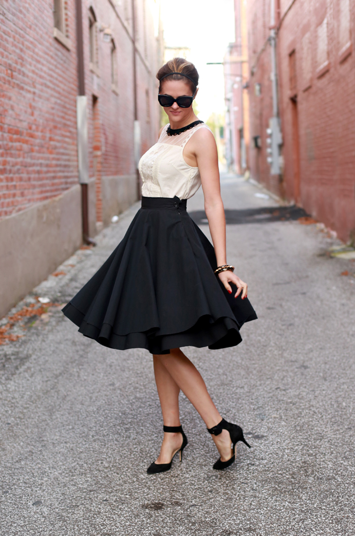 Long Black Skirt Tumblr 2014-2015 | Fashion Trends 2016-2017