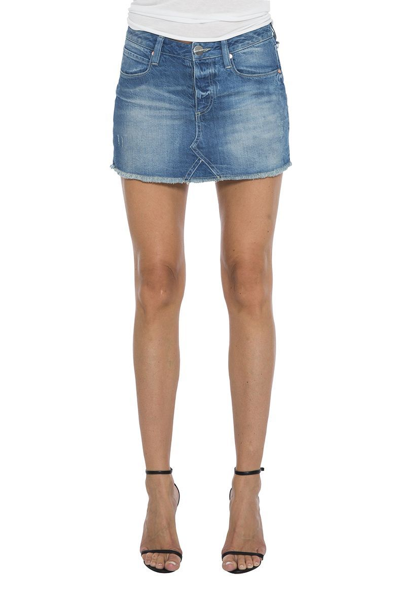 Fashion2Love N Women s Juniors High Waist Long Knee Length Midi Pencil Denim Skirt. Sold by Fashion2love. $ $ - $ Kate Spade Womens Denim Embroidered A-Line Skirt. Sold by BHFO. $ $ - $ Ralph Lauren Womens Denim Front Slit Pencil Skirt.