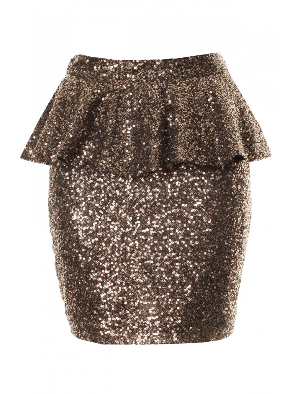 Long And Mini Gold Sequin Skirt 2014 2015 Fashion Trends