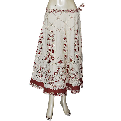 Unique Design Rajasthani Cotton Long Skirt Indian Women39s Skirts  EBay