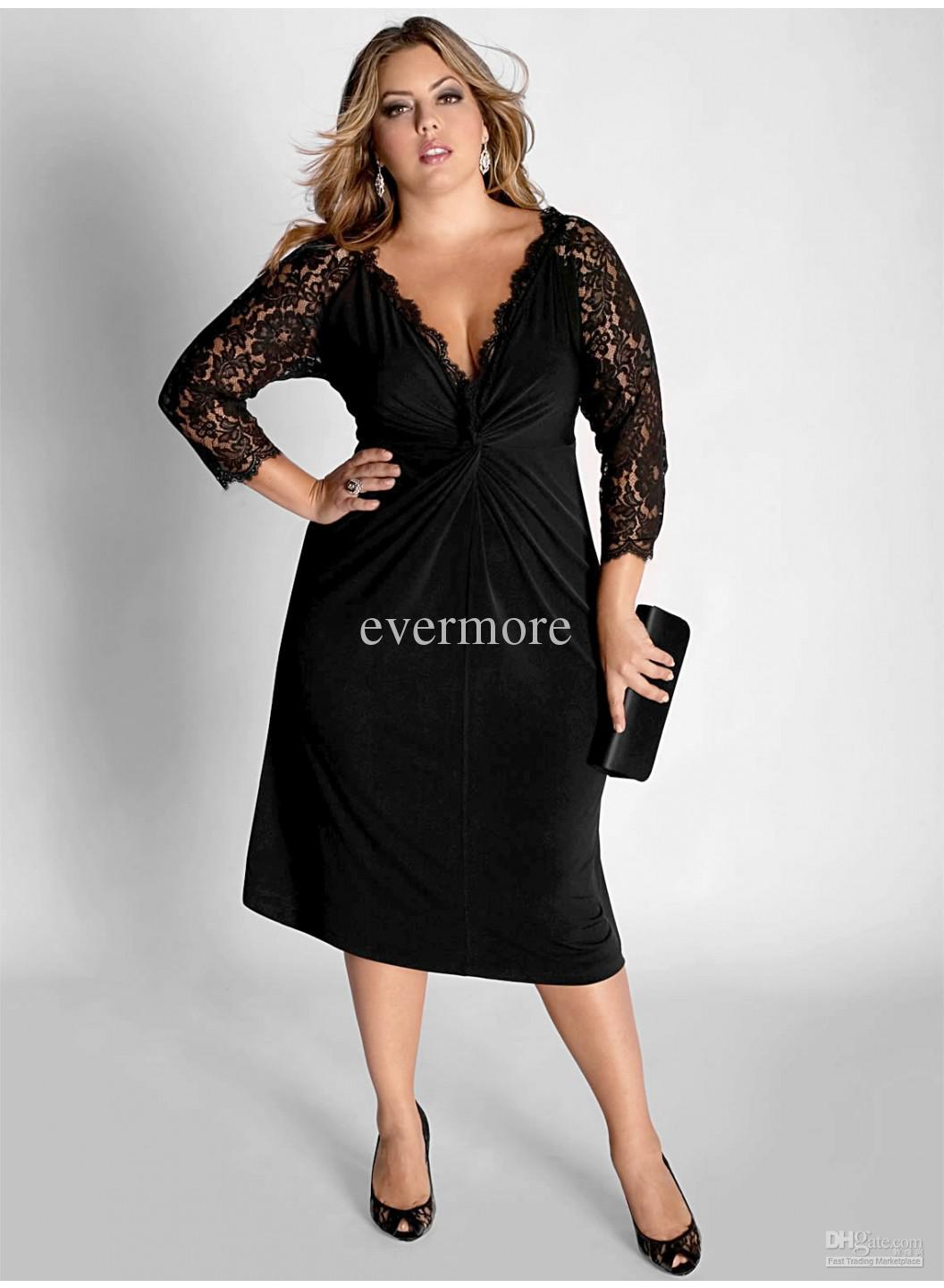 plus size evening dresses with sleeves