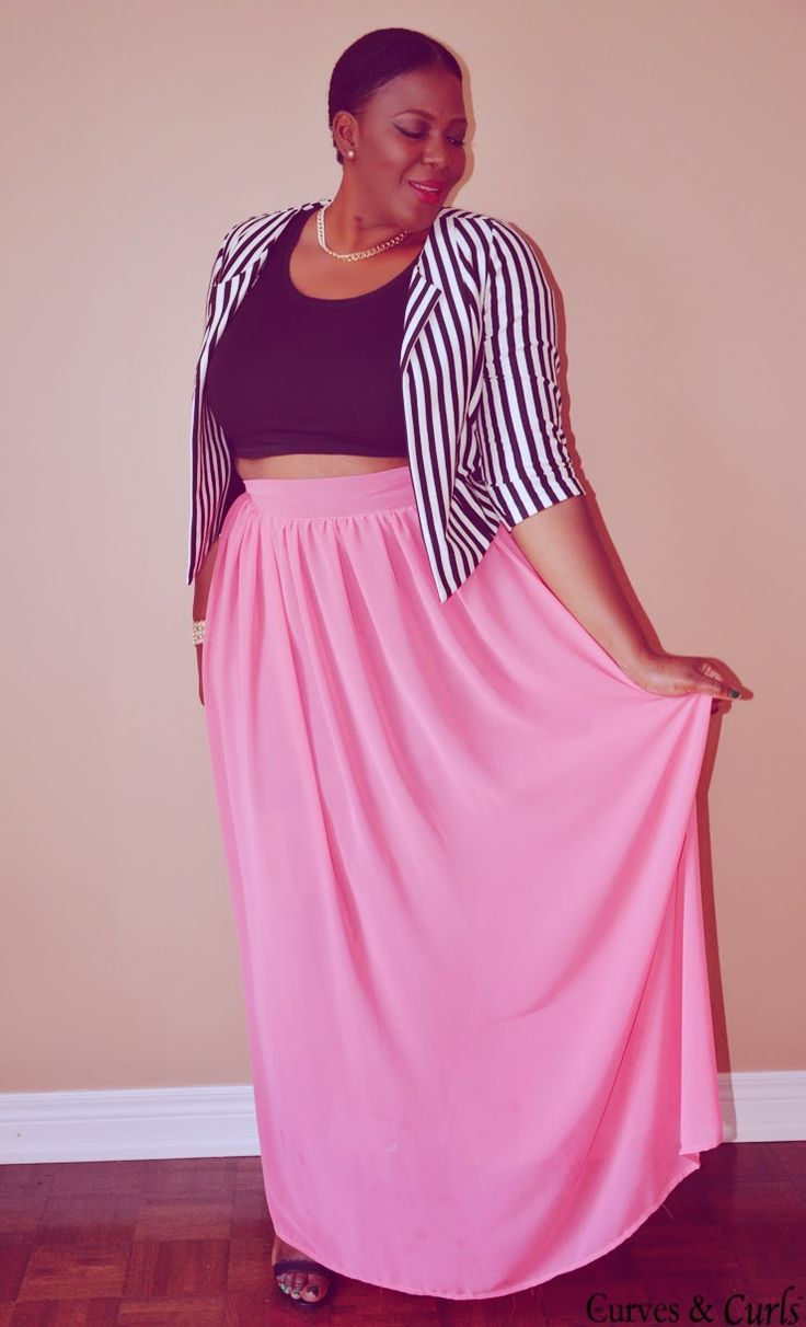 Skirt maxi outfits plus size images
