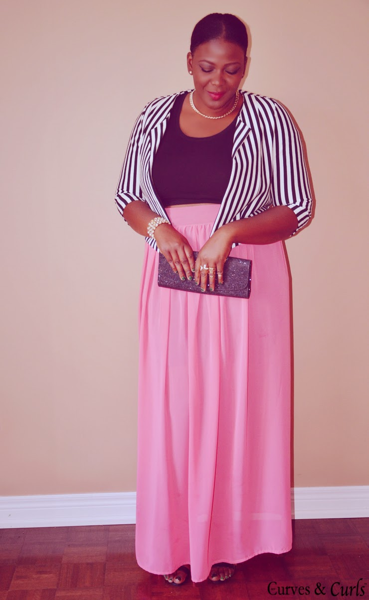 Skirt maxi outfits plus size best photo